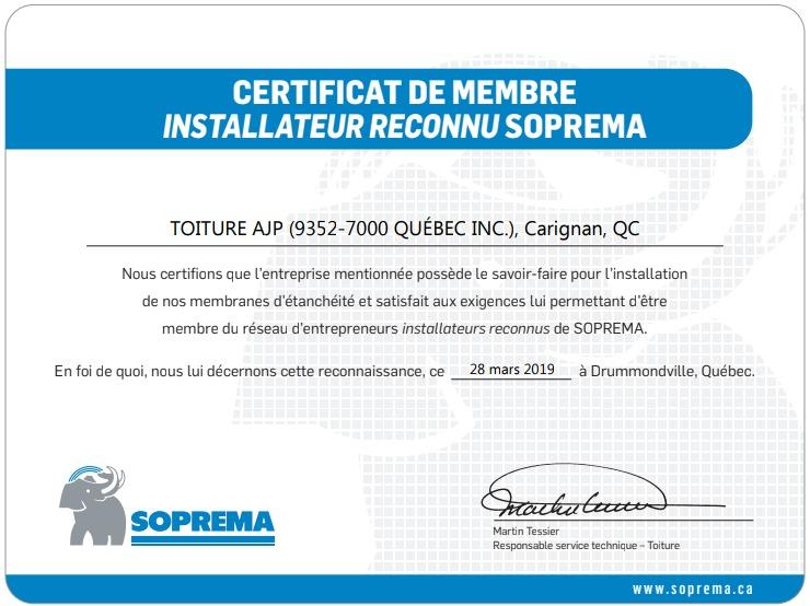 soprema-certificat-installateur